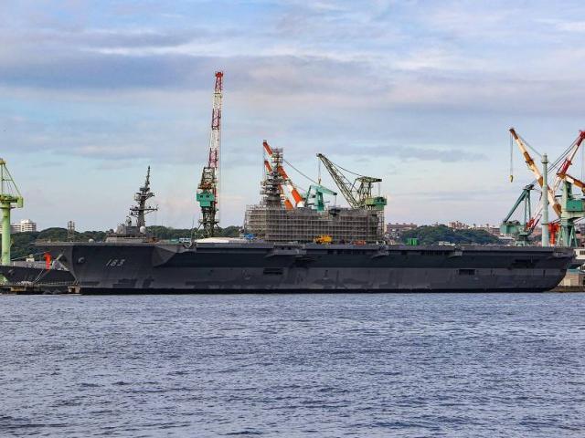 """Nhật Bản trang bị ngay tiêm kích F-35B trên tàu sân bay, """"dằn mặt"""" Trung Quốc"""