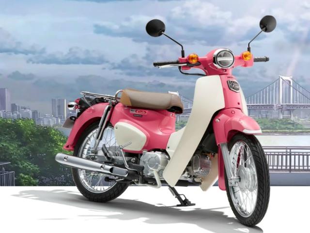 Honda Super Cub bản hồng mộng mơ, cuốn hút giới trẻ