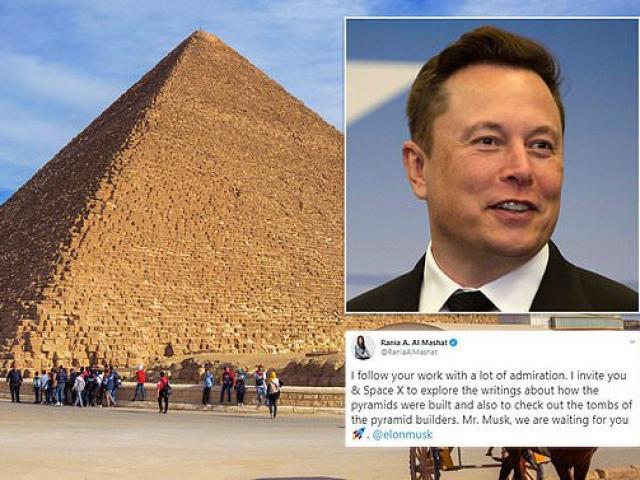 Tỷ phú Mỹ Elon Musk: Người ngoài hành tinh xây kim tự tháp Ai Cập