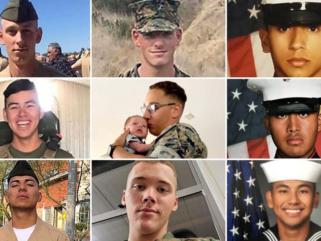 8 quân nhân Mỹ chết chìm trong xe bọc thép: Đau xót vì tất cả còn quá trẻ