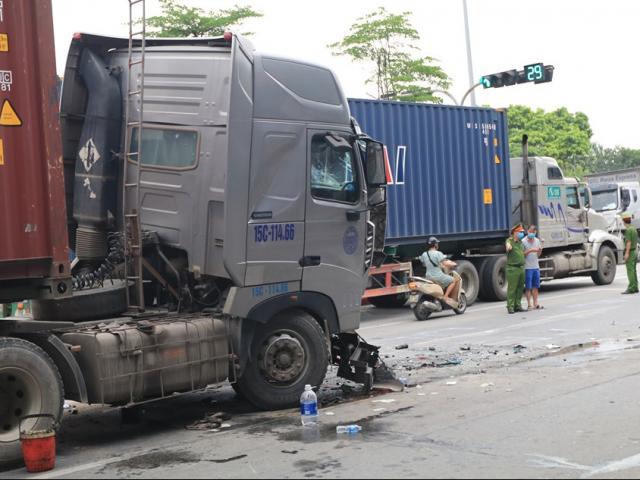 Tình trạng sức khỏe nạn nhân bị thương trong vụ xe container chèn ô tô 3 người chết