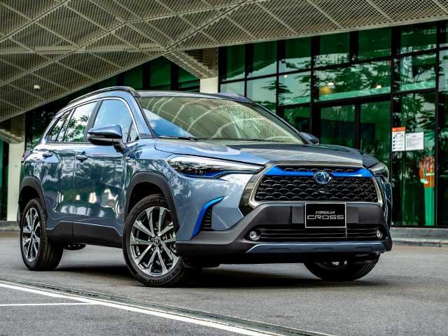 Giá lăn bánh các phiên bản dòng xe Toyota Corolla Cross sắp ra mắt tại Việt Nam