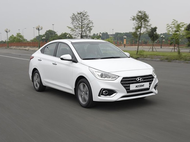 Giá lăn bánh xe Hyundai Accent mới nhất tháng 8/2020