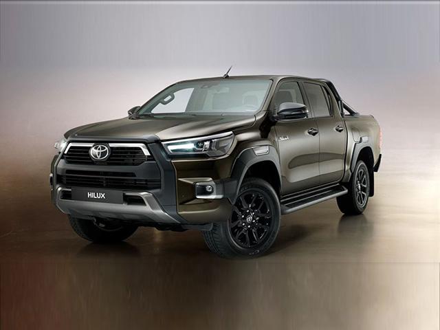 Toyota Hilux facelift xuất hiện đầy dũng mãnh, nhiều trang bị tối tân