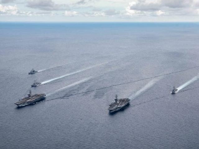 """Binh sĩ TQ """"không được phép nổ súng"""" trước máy bay, tàu chiến Mỹ ở Biển Đông"""