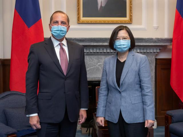 Bộ trưởng Y tế Mỹ tới Đài Loan: Trung Quốc phản ứng gay gắt