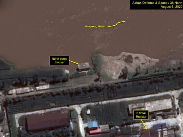Mưa lũ lịch sử khiến cơ sở hạt nhân chính ở Triều Tiên bị hư hại?