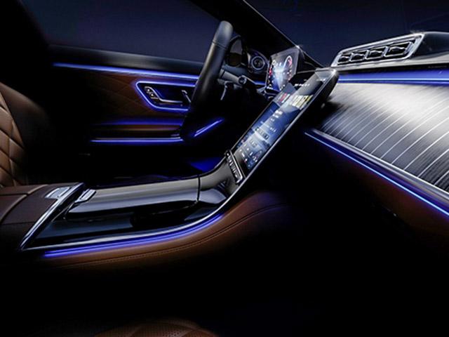 Dòng xe Mercedes-Benz S-Class thế hệ mới lộ thêm hình ảnh nội thất