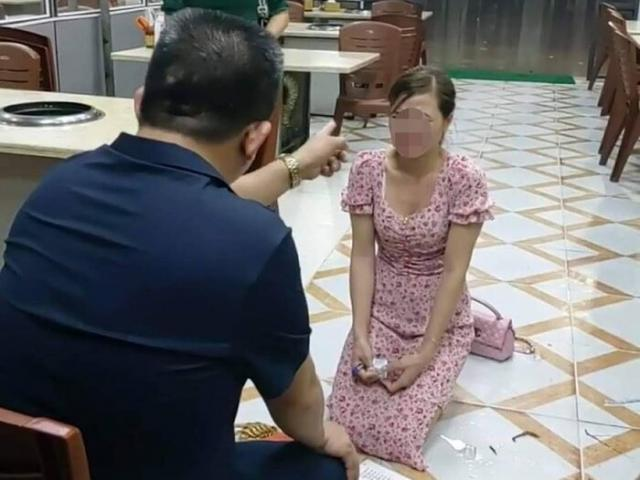 Vụ nữ khách hàng quỳ gối trong quán ăn: Triệu tập chủ quán