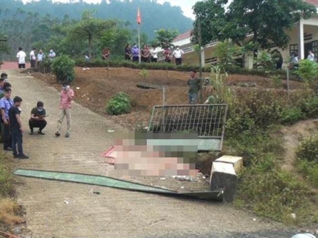 Sập cổng trường mầm non, 3 học sinh tử vong thương tâm