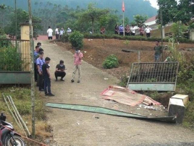 Xác định nguyên nhân ban đầu vụ sập cổng trường, 3 học sinh tử vong