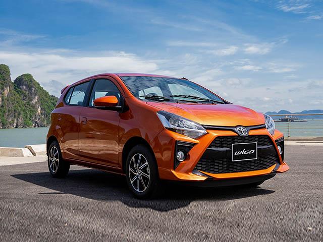 Giá xe Toyota Wigo lăn bánh mới nhất tháng 9/2020
