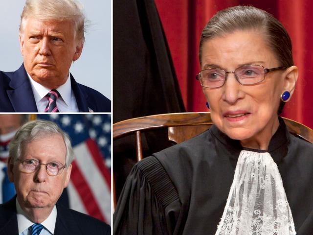 Thẩm phán Tòa án Tối cao Mỹ qua đời, không muốn bị thay thế trước bầu cử