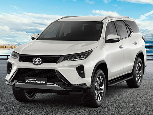 Giá lăn bánh các phiên bản xe Toyota Fortuner mới tại thị trường Việt Nam
