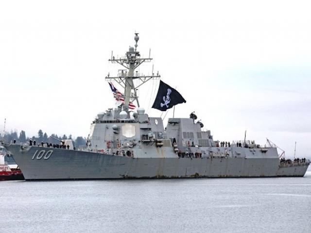 Chuyện về chiến hạm duy nhất của hải quân Mỹ treo cờ cướp biển