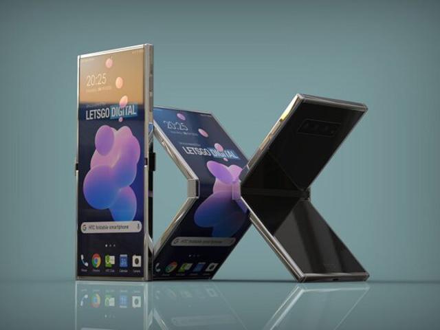 Phác họa hình dáng điện thoại gập lại tuyệt đẹp từ HTC
