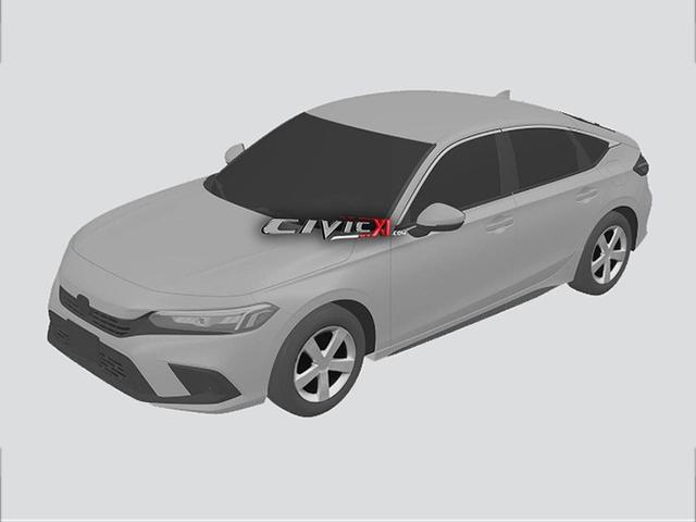 """Xem trước Honda Civic 2022 qua bản dựng đồ họa, thiết kế đầu xe """"mượn"""" của Accord"""