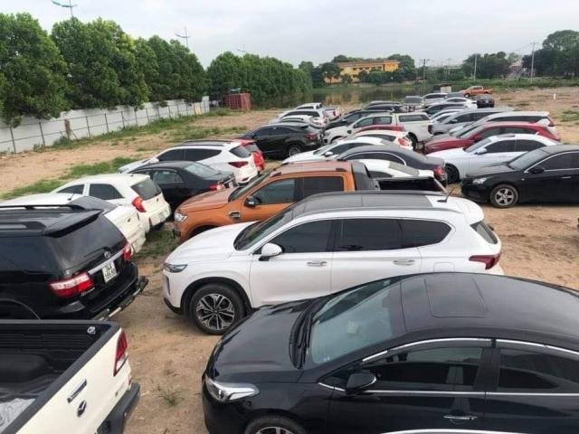 Gần 100 xế hộp bị tạm giữ trong đường dây trộm cắp, tiêu thụ ô tô liên tỉnh