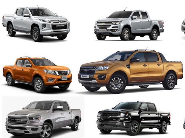 Giá xe bán tải mới nhất tháng 7/2021