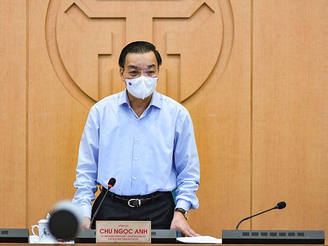 Chủ tịch Hà Nội đề nghị người dân khai báo y tế thường xuyên, đầy đủ