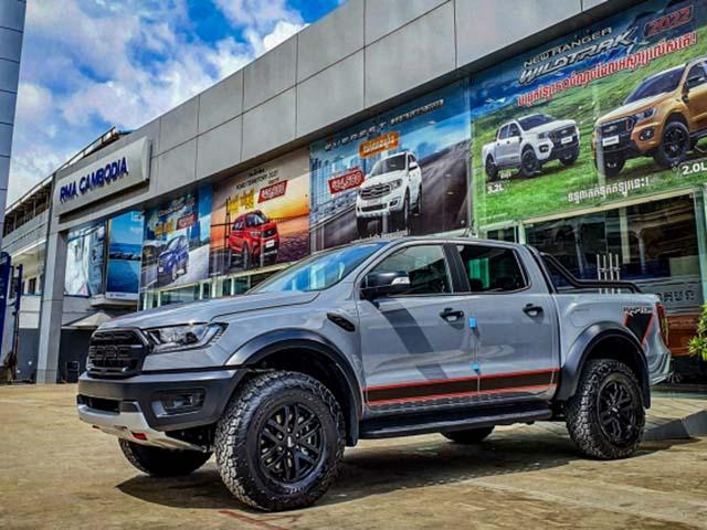 Ford Ranger Raptor bản X xuất hiện tại Cambodia, liệu có về Việt Nam