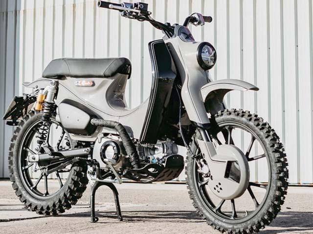 Honda giới thiệu Super Cub C125X: Không dành cho số đông