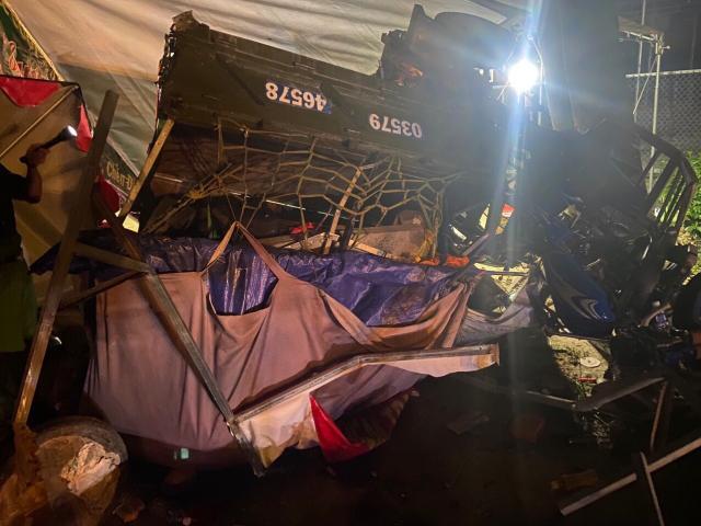 Tai nạn tại chốt kiểm dịch, 1 người tử vong, 6 người bị thương