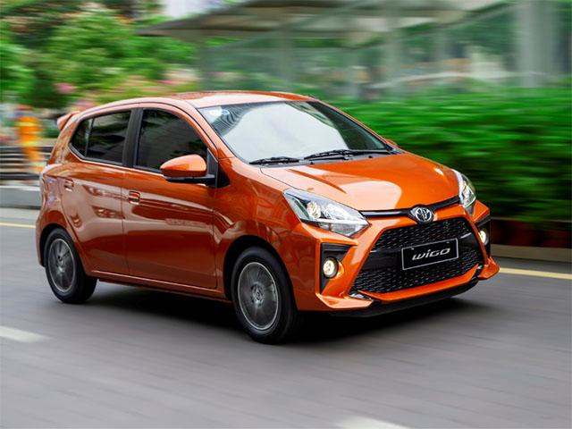 Giá xe Toyota Wigo lăn bánh tháng 8/2021