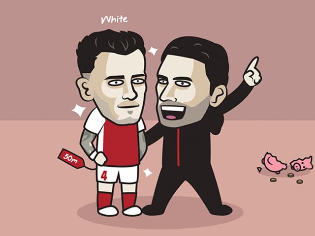 Arsenal bất ngờ mạnh tay mua sắm khiến fan cũng phải giật mình