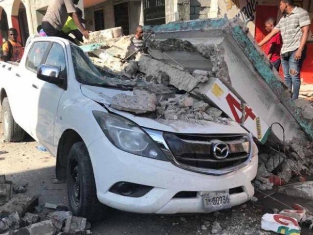 Haiti hứng động đất mạnh hơn trận từng cướp sinh mạng 220.000 người năm 2010