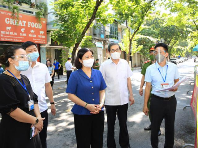 Phó Bí thư Thành uỷ Hà Nội: Ngày 2/9 nếu không siết chặt giãn cách, nguy cơ lây nhiễm dịch bệnh rất lớn