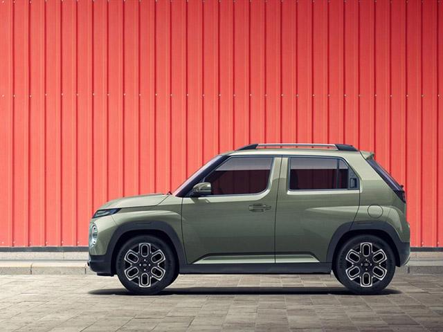 """Hyundai Casper trình làng, mẫu xe gầm cao """"anh em"""" với Grand i10"""