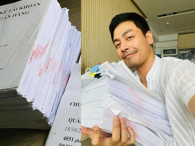 Thêm 1 MC nổi tiếng tung 6 kg giấy sao kê hơn 24 tỷ đồng tiền từ thiện miền Trung