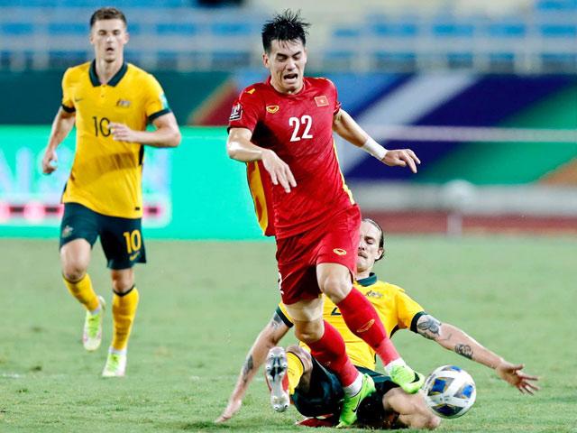 Dàn cầu thủ Việt Nam nói gì sau trận thua Australia trên sân Mỹ Đình?