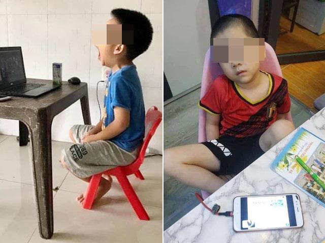 Nhà có 2 điện thoại phải hoạt động hết công suất vì 3 con học online