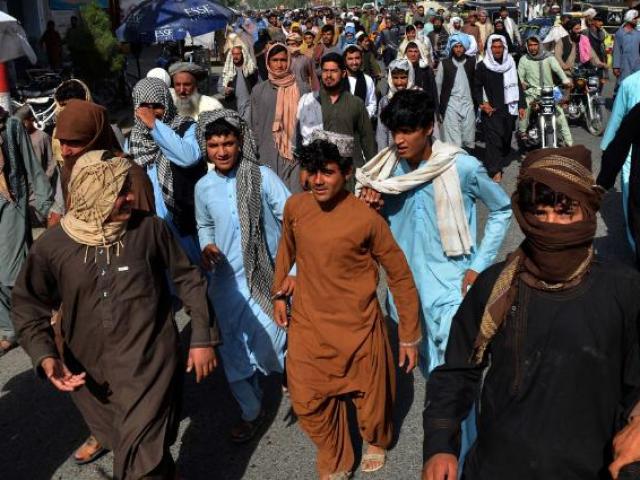3.500 người Afghanistan bỗng dưng bị Taliban đuổi khỏi nhà