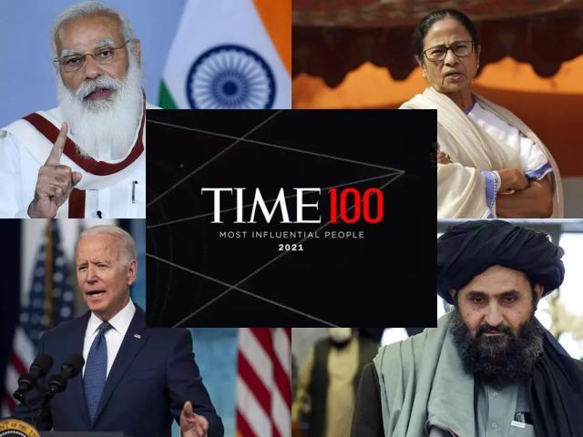 """Danh sách 100 người ảnh hưởng nhất: Thủ lĩnh Taliban """"chung mâm"""" với ông Biden, ông Trump"""