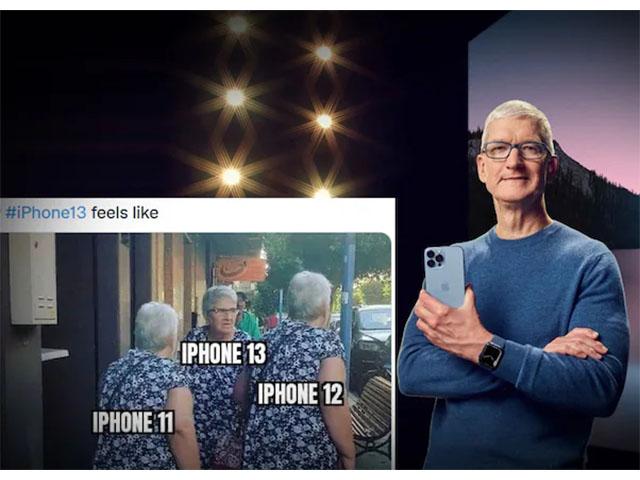 """""""Phì cười"""" trước ảnh chế iPhone 13"""