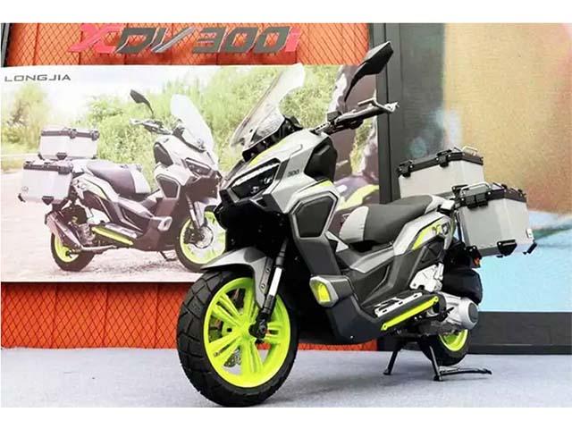 """Trình làng Longjia XDV 300i: Xe ga đẹp """"xuất chúng"""", trang bị hiện đại"""