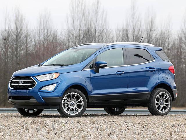 Giá xe Ford EcoSport tháng 9/2021, ưu đãi 50 triệu đồng