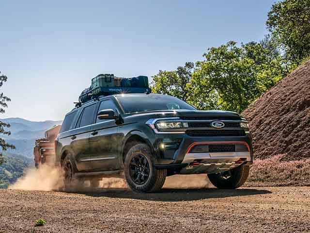 Ford Expedition thế hệ mới sở hữu nội thất khủng