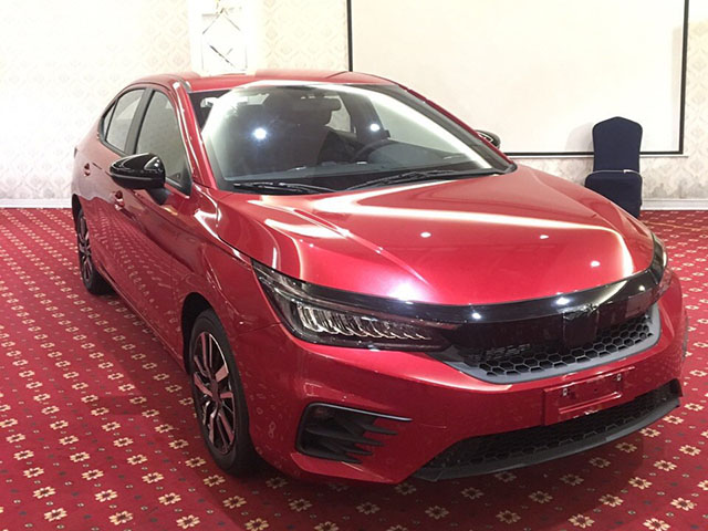 Honda City 2020 bất ngờ xuất hiện tại Việt Nam