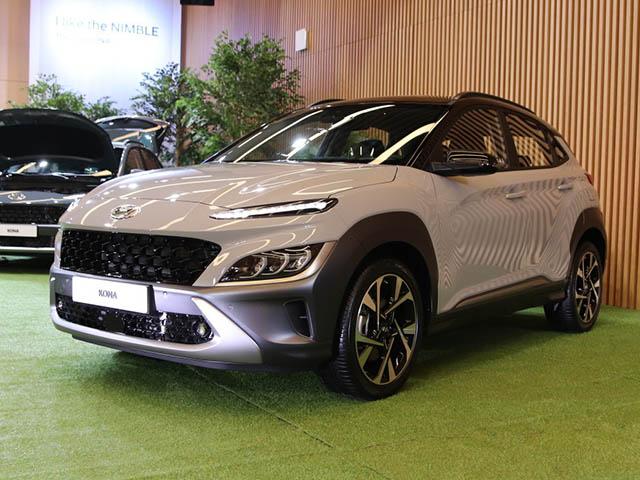 Ảnh thực tế Hyundai Kona 2021, đợi ngày về Việt Nam đấu KIA Seltos