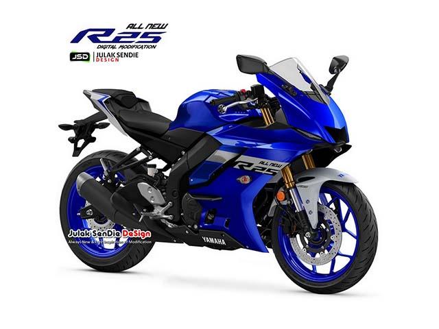 Yamaha YZF-R3 lộ thiết kế mới sắc sảo, thách thức Ninja ZX-25R
