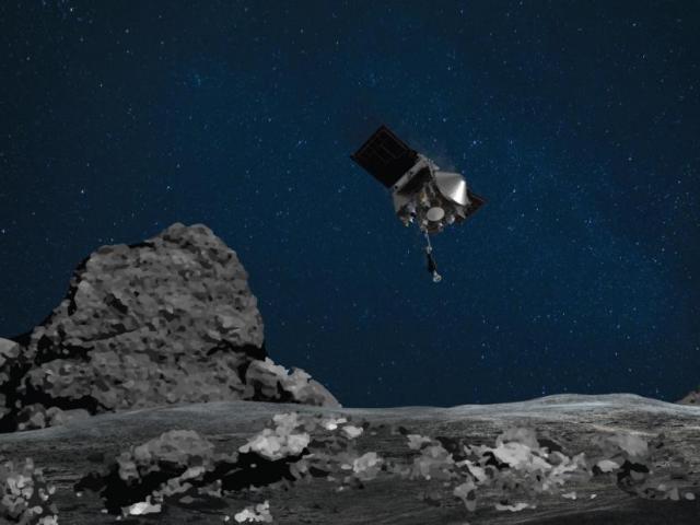 Tàu vũ trụ NASA có cú chạm lịch sử nhằm tìm kiếm nguồn gốc sự sống