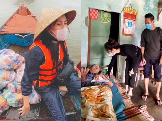 """""""Choáng"""" với tổng số tiền sao Việt kêu gọi cứu trợ miền Trung trong 7 ngày qua"""