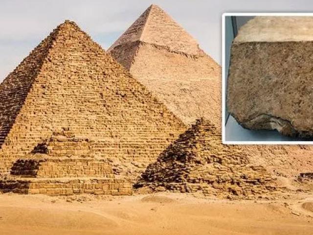 Chuyên gia tiết lộ bí mật xây Đại kim tự tháp Ai Cập