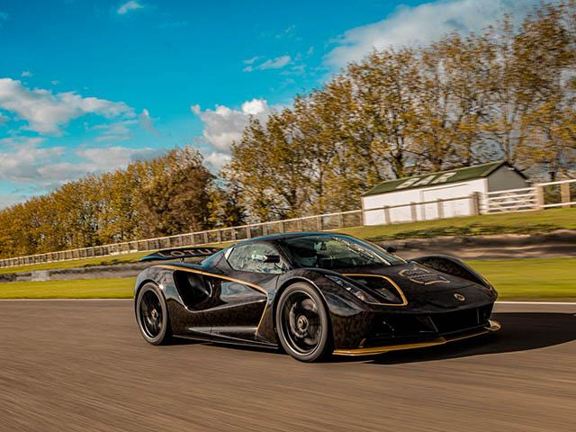 Siêu xe điện Lotus Evija lộ diện tại lễ hội tốc độ Goodwood