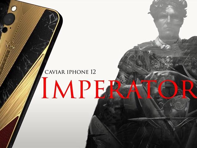 Caviar lại khiến iFan hốt hoảng với iPhone 12 Pro chiến binh cổ đại