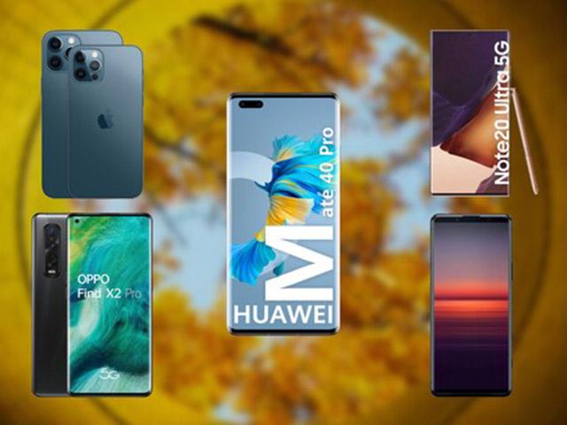 So kè 3 siêu phẩm mạnh nhất 2020 của Apple, Samsung và Huawei